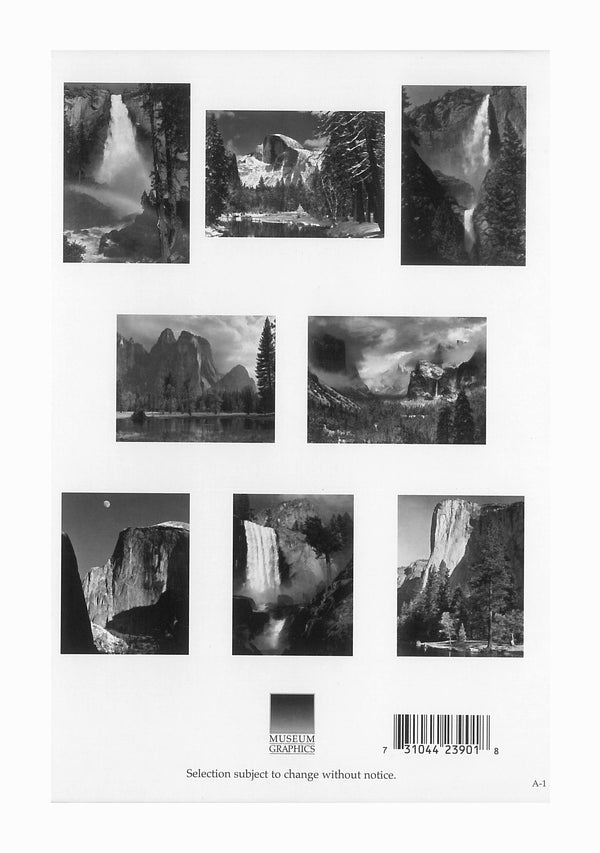Ansel Adams Images of Yosemite Boxed Notecards