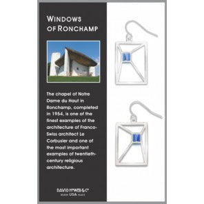 Windows of Ronchamp Earrings - David Howell