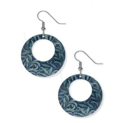 "William Morris ""Willow"" Earrings"