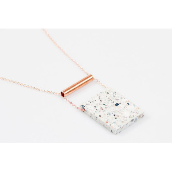Corian Rectangle Necklace