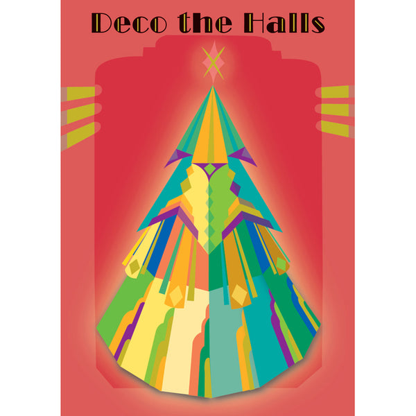 Deco the Halls Holiday Cards