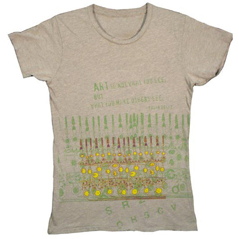 Degas Quote T-Shirt