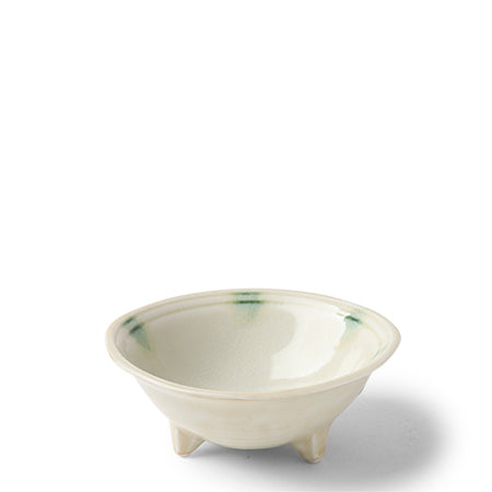 Japanese Dotted Ivory Sauce Bowl