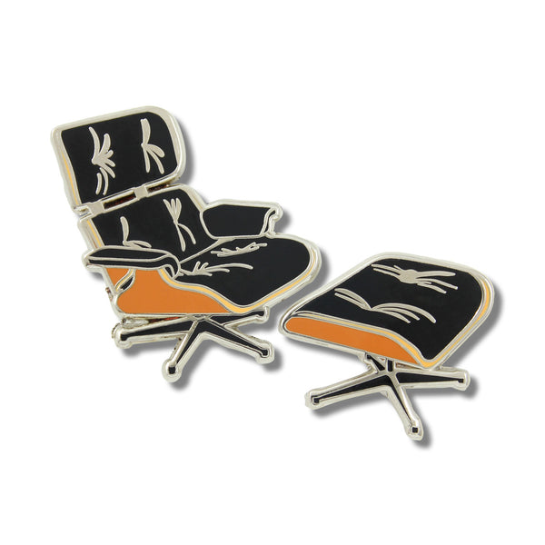 Eames Lounge Chair Enamel Pin