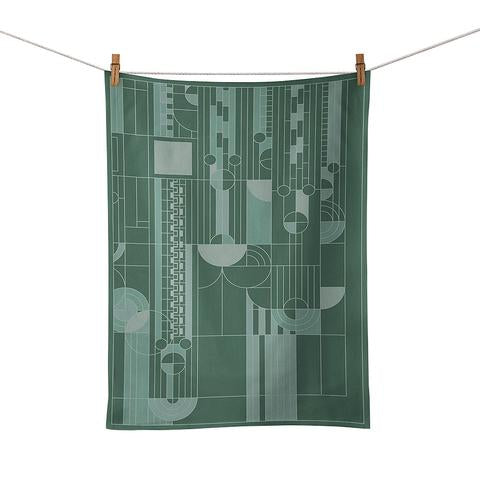 Frank Lloyd Wright Saguaro Tea Towel