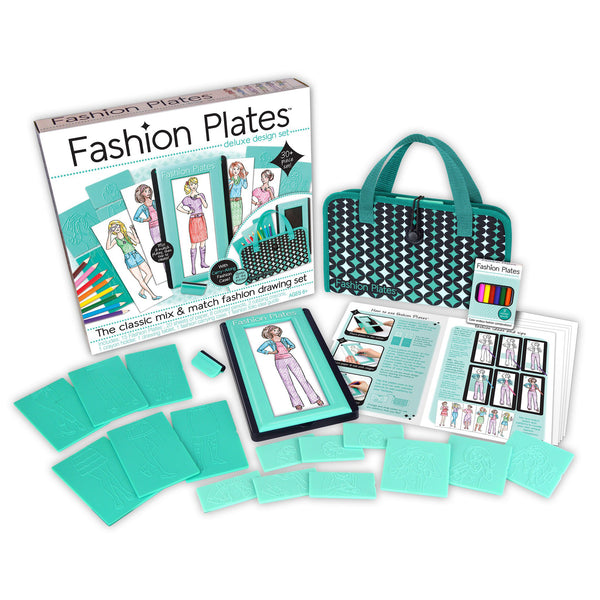 Fashion Plates Deluxe Design Set