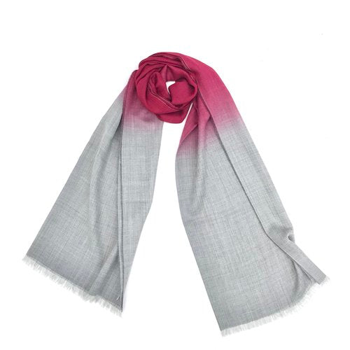 Etole Scarf In Fog And Wine