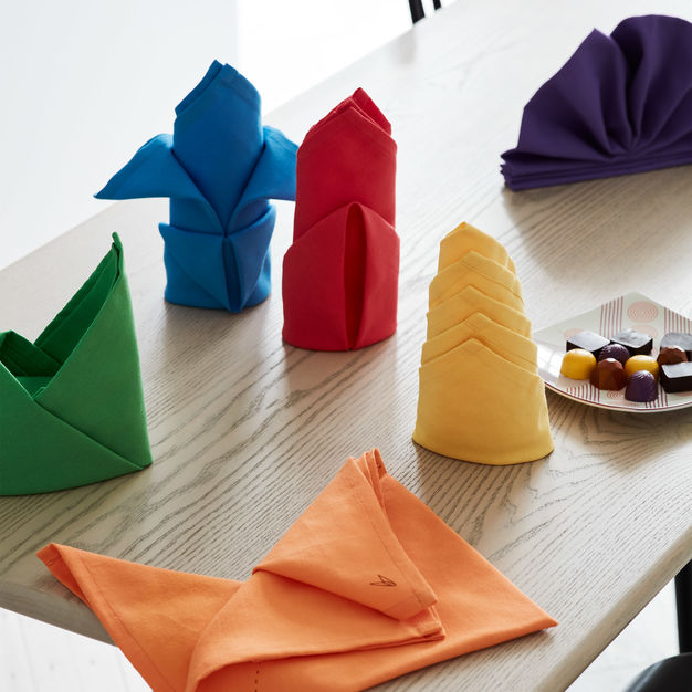 Fold By Number Cloth Napkins - Set of 6