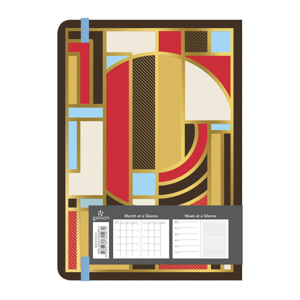 Frank Lloyd Wright Glided 13 Month Undated Planner