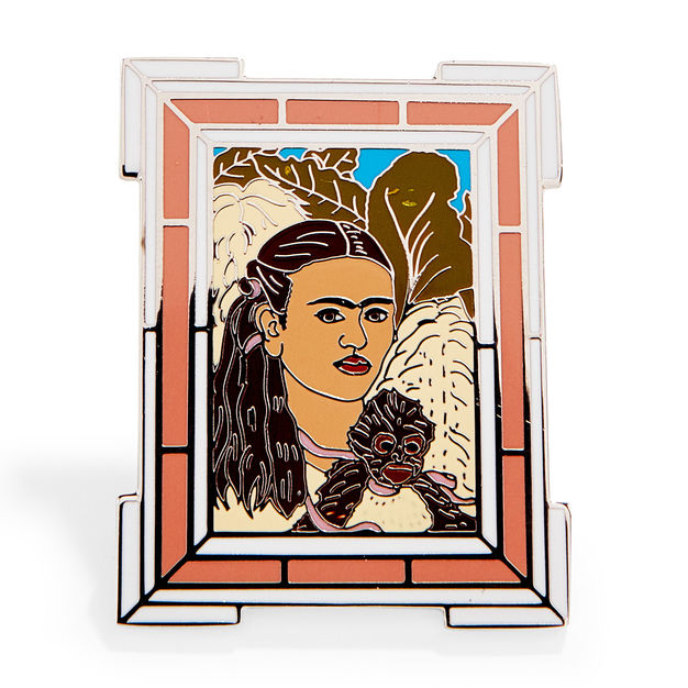 Frida Kahlo: Fulang-Chang and I Enamel Pin
