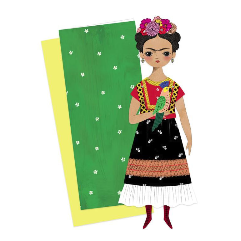 Frida Kahlo Mailable Paper Doll