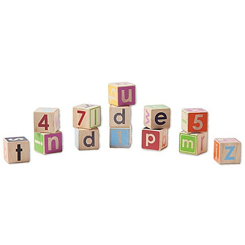 Wooden Block Set Developmental Toy