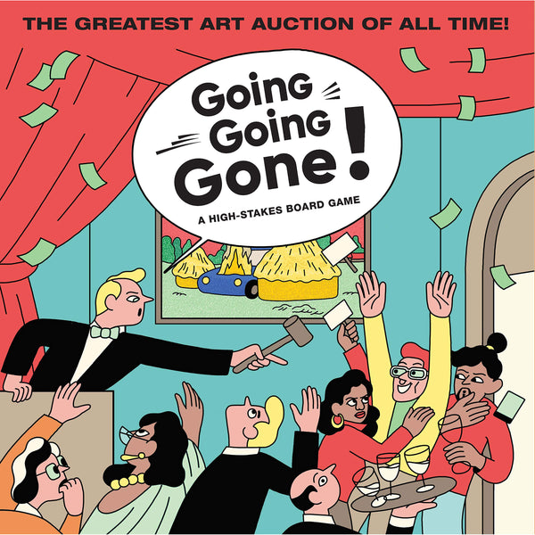 Going Going Gone! A High Stakes Board Game