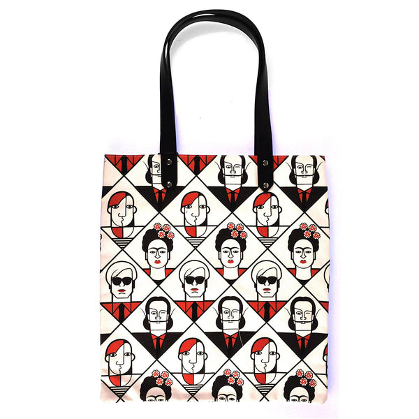 Great Modern Artist Canvas Tote Bag