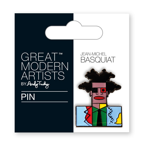 Great Modern Artist Basquiat Enamel Pin