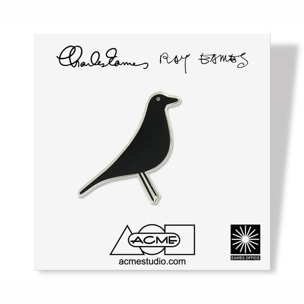 Eames House Bird Enamel Pin