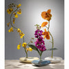 Yellow Wave Ikebana Vase
