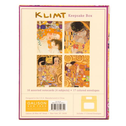 Gustav Klimt Mother & Child Keepsake Box Note Cards