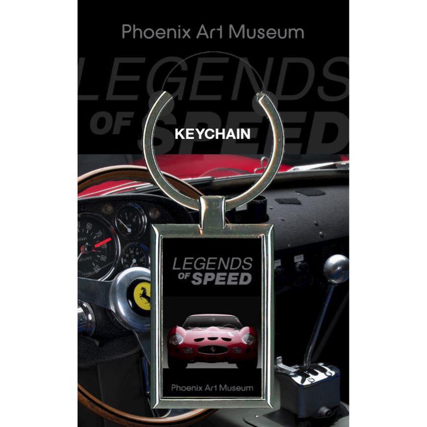 Legends of Speed Keychain
