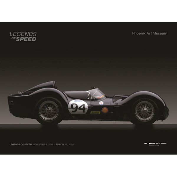 Legends of Speed Exhibition Poster