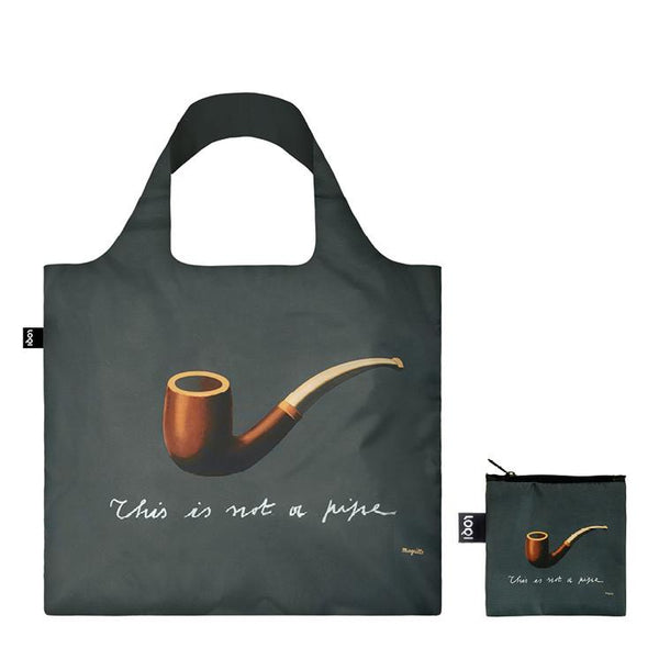 Rene Magritte The Treachery of Images Reusable Tote Bag