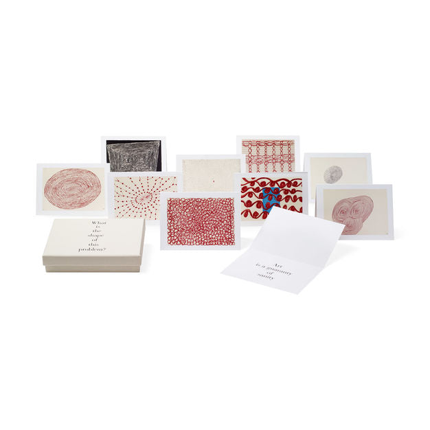 Louise Bourgeois Note card Set - What Is The Shape of This Problem?