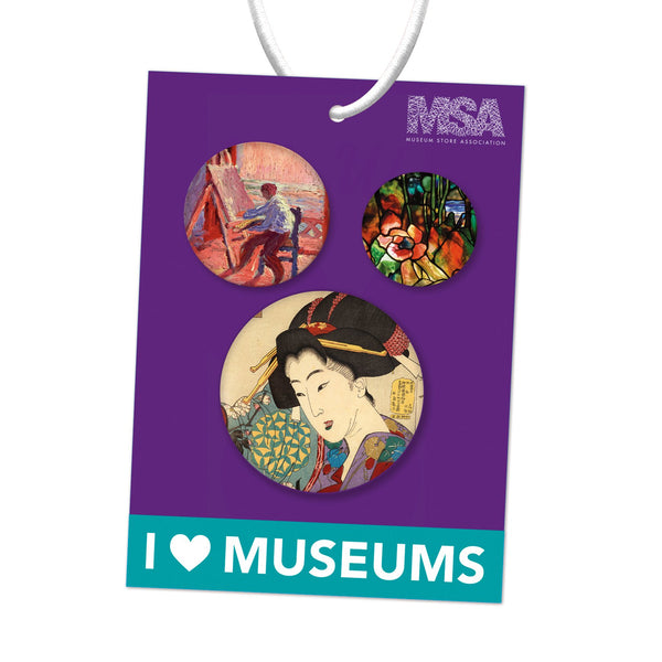 I Heart Museums Tote Bag