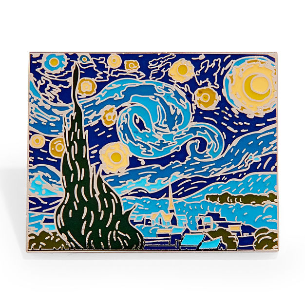 Van Gogh Starry Night Enamel Pin