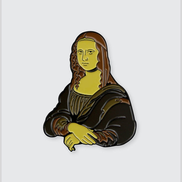 Mona Lisa Enamel Pin