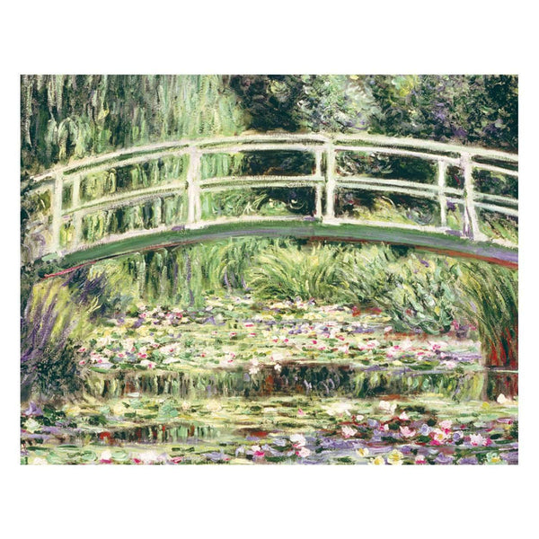 Monet Waterlily Garden Keepsake Box Note Cards