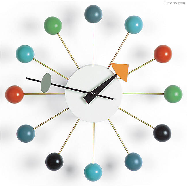 Vitra Nelson Ball Clock in Multicolor