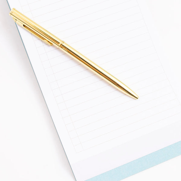 Modern Chunky Note Pad with Pen