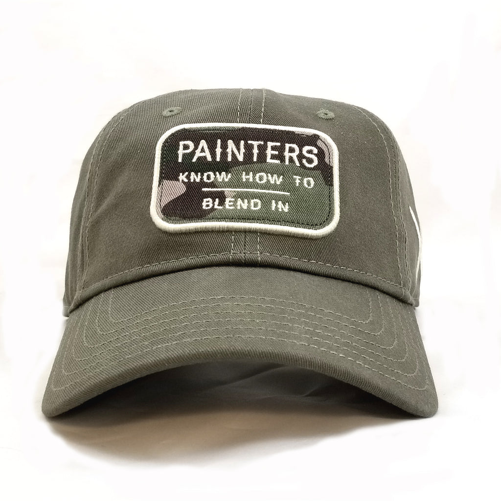 Painters Know How to Blend in Baseball Hat