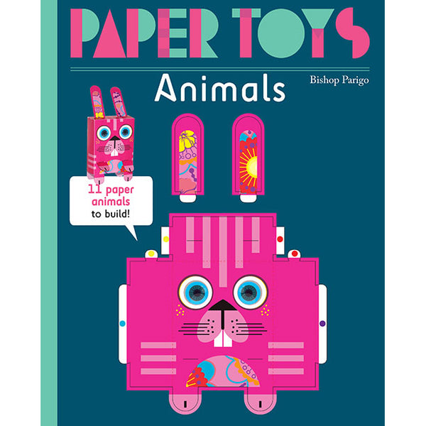 Animal Paper Toys:  11 Paper Animals to Build