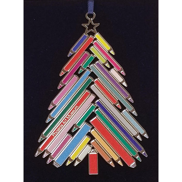 Phoenix Art Museum Pencil Tree Ornament