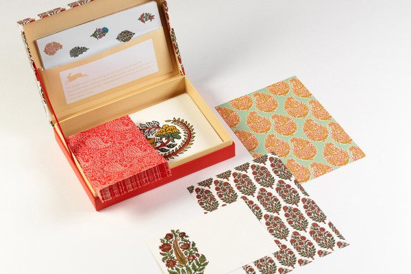 Indian Block Prints Letter Writing Set