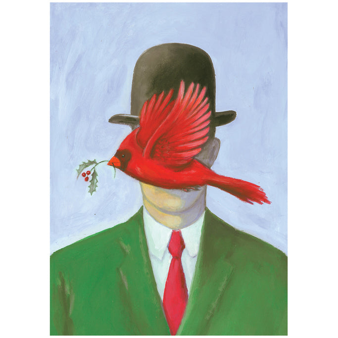 Season's Magritte-ings Holiday Cards