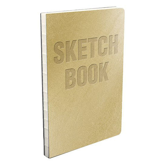 Metallic Gold Sketch Book