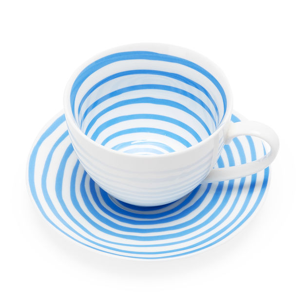 Louise Bourgeois Spirals Teacup + Saucer