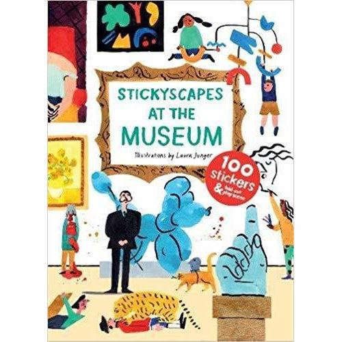 Stickyscapes At The Museum: Sticker Book