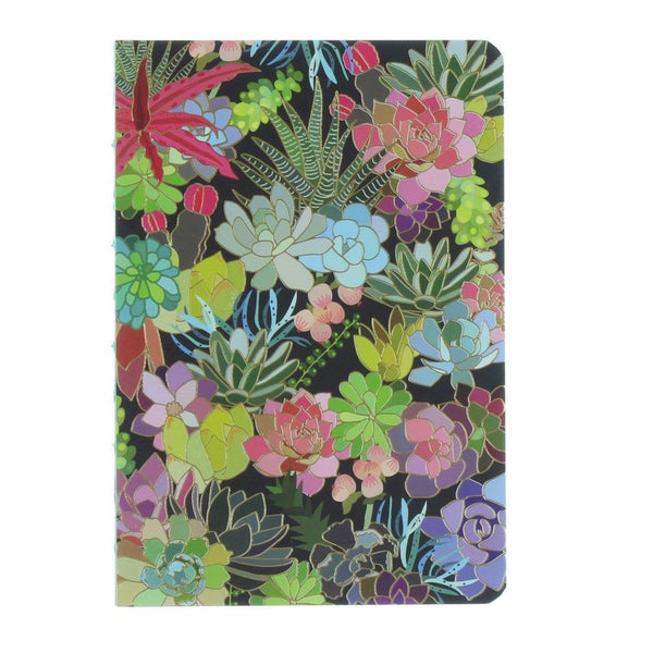 Succulent Paradise Coptic Bound Journal