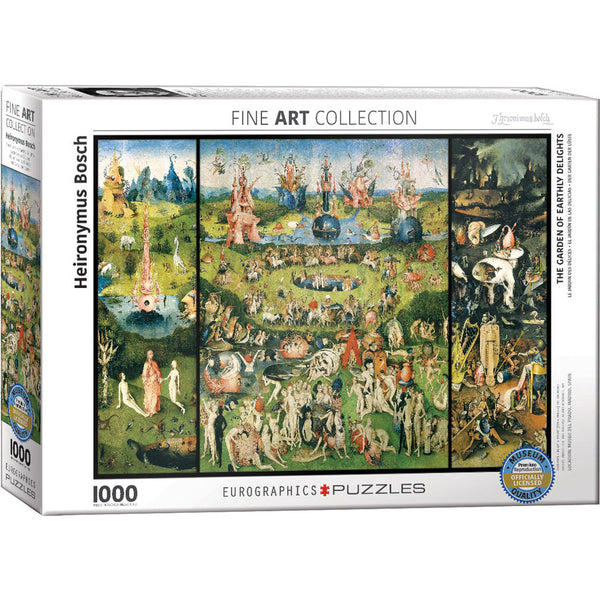 The Garden Of Earthly Delights Puzzle By Heironymus Bosch