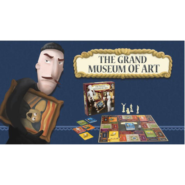 Grand Museum of Art Board Game