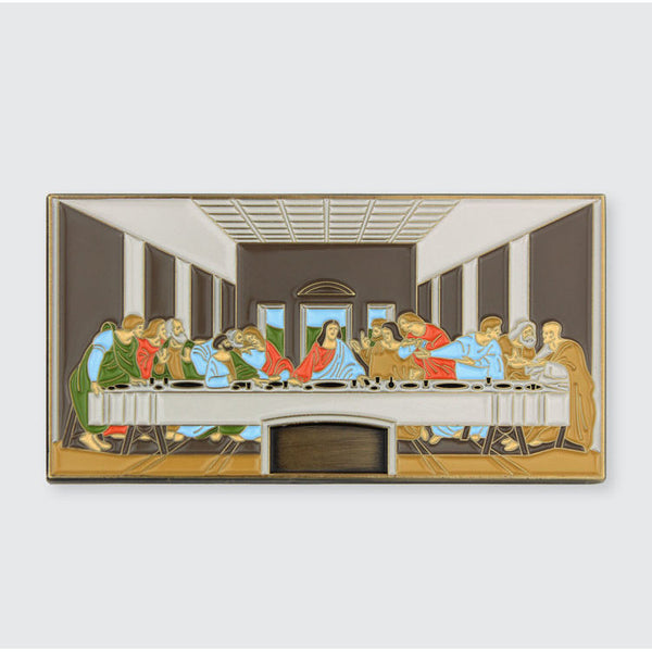 Last Supper Enamel Pin