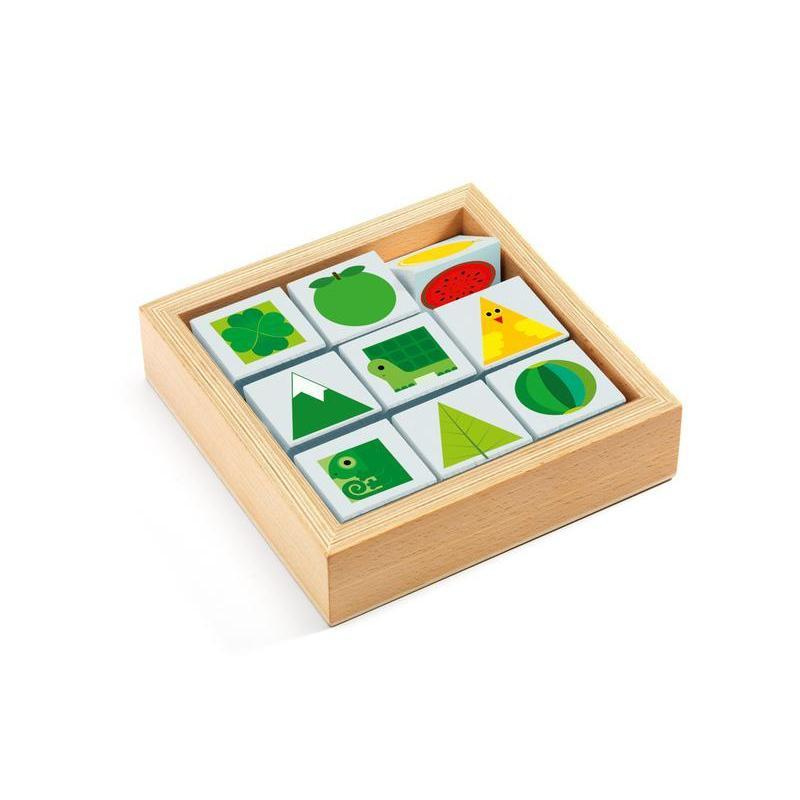 Tri Basic Wooden Activity Puzzle