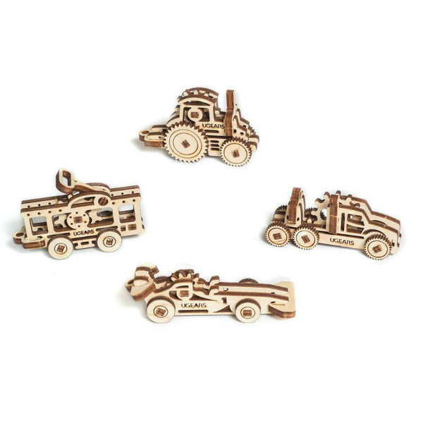 Ugears U-Fidget 3-D Wood Vehicle Models