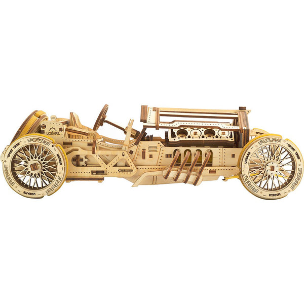 Ugears U-9 Grand Prix Race Car Model Kit