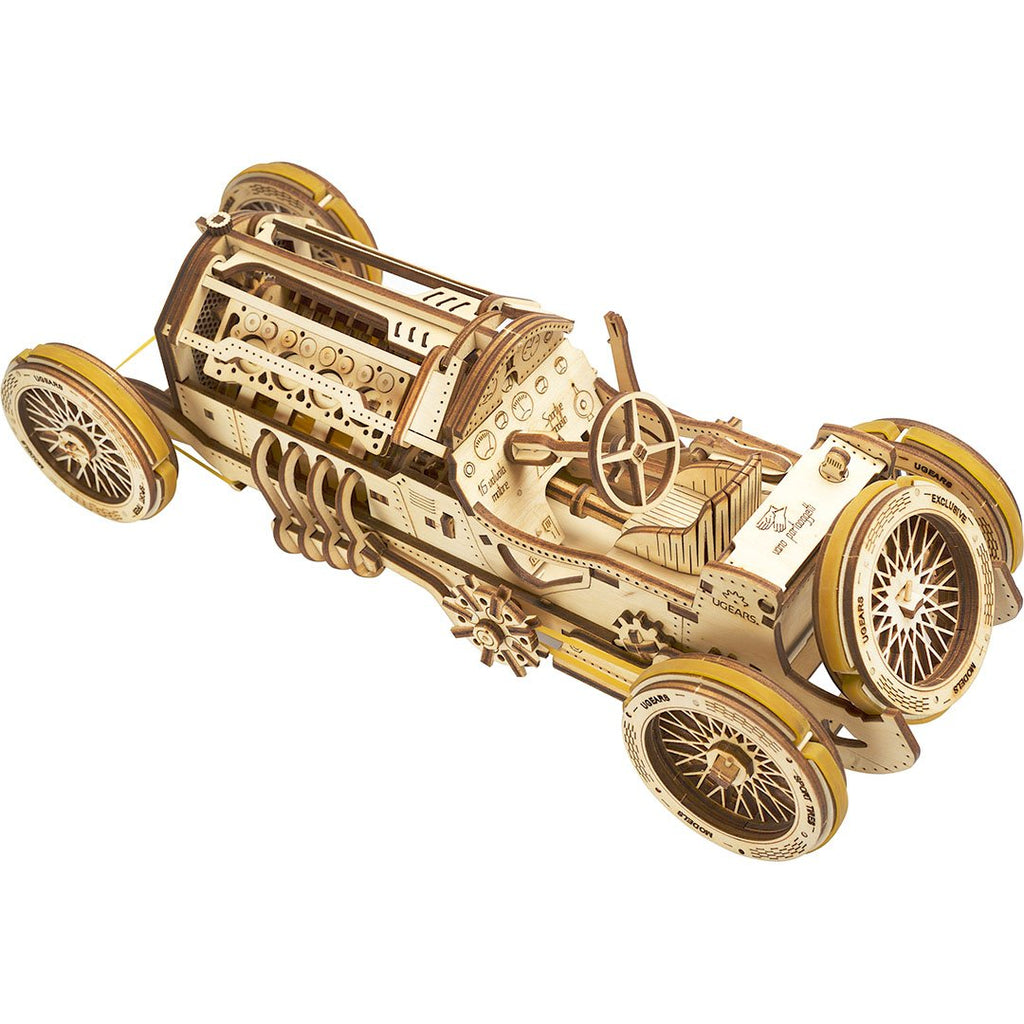 Ugears Grand Prix Race Car Model Kit