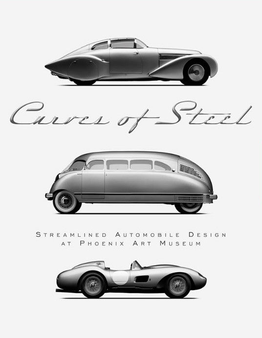 Curves of Steel Streamlined Automobile Design at Phoenix Art Museum