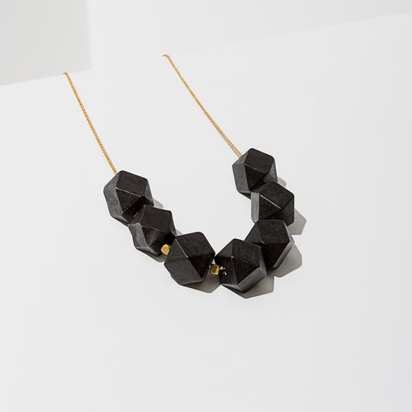 Virago Necklace In Black